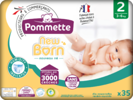 couches pommette new born T2
