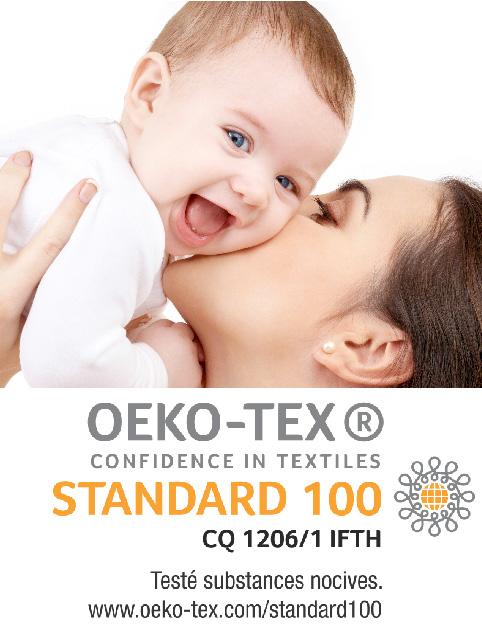 couches certifié oeko-tex
