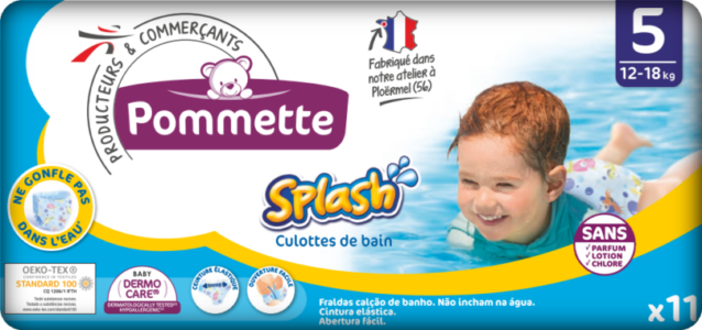 couches pommette splash T5