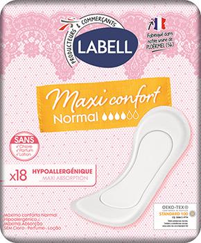 serviette labell maxi normal