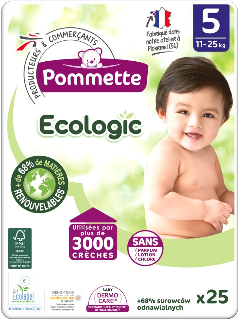 couches pommette ecologic T5