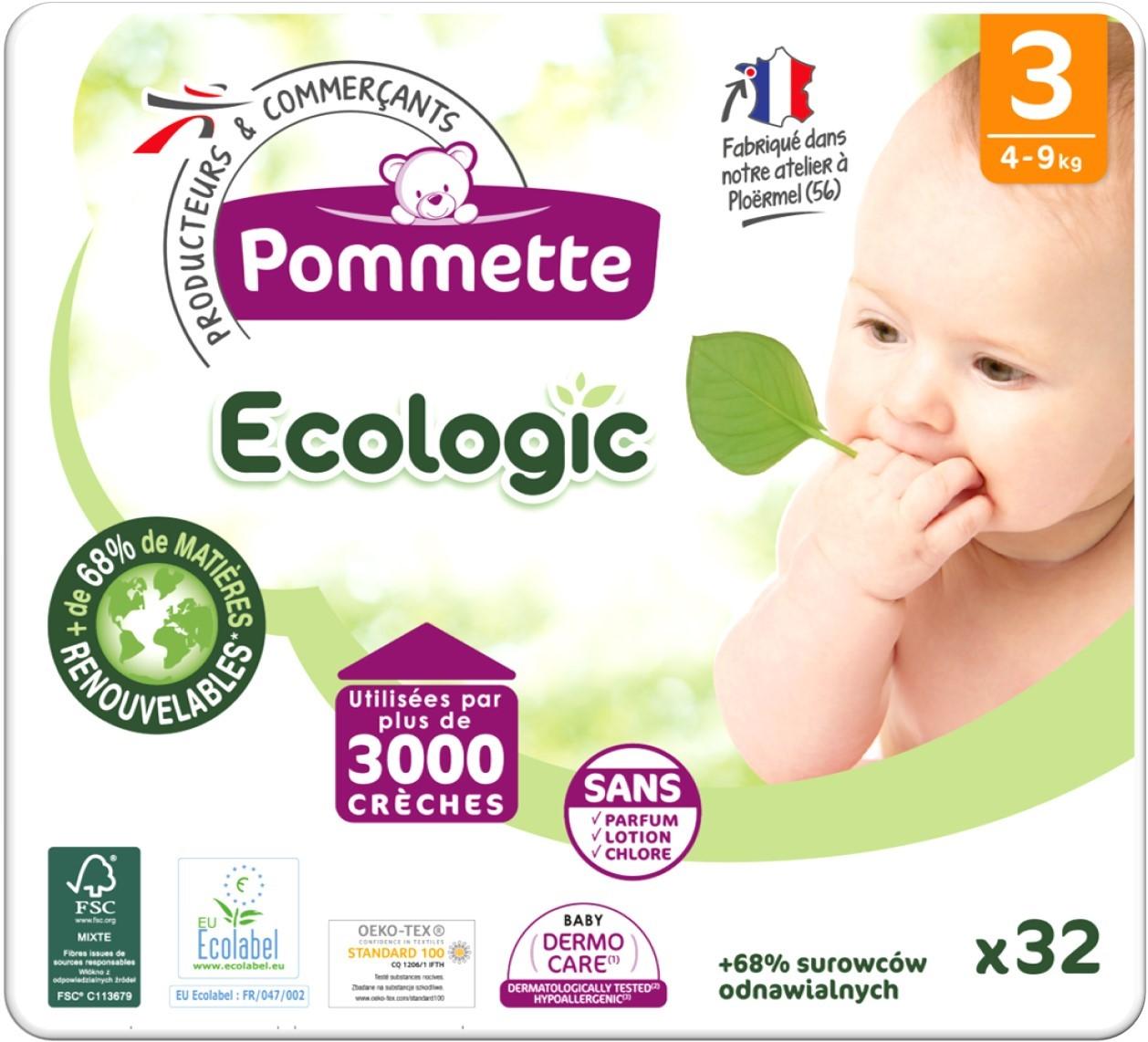 Pommette ecologic T3